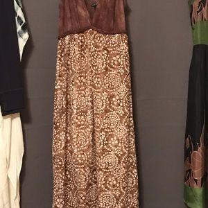 Dresses - Lucky brand maxi dress